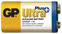 Baterie GP Ultra Plus Alkaline 9VA, 9V 1ks - GP 1604AUP