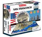 4D Cityscape puzzle Time Panorama San Francisco