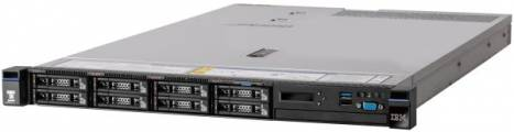 System x TS x3550M5 Xeon 6C E5-2603 v4 85W 1.7GHz/1866MHz/15MB, 1x8GB, 0GB 2,5in (4), M1215, FIO Entry, 550W