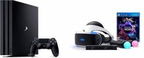 Sony PlayStation 4 Pro Konzole 1TB + PlayStation VR Starter Kit - Ps4Pro+VR