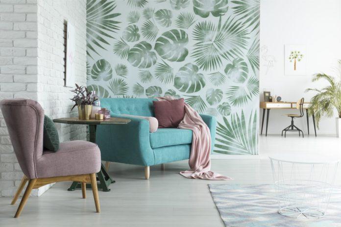 Při volbě tapety zohledněte vzhled místnosti.